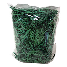 OfficeMax Paper Shreds 2 Oz Green