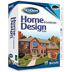 Punch home and landscape design suite with nexgen Punch home and landscape design professional