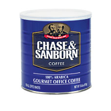 Chase And Sanborn Coffee 345 Oz