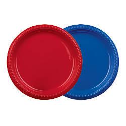 Solo Plastic Plates 9 Blue
