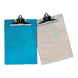 OfficeMax Brand Translucent Acrylic Clipboards Letter