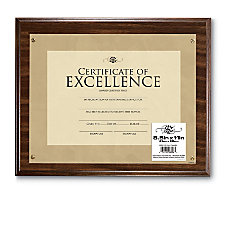 Uniek Wood Award Plaque 8 12