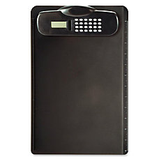 OIC Plastic Clipboard With Calculator 9
