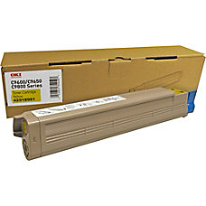 Oki TYPE C7 Yellow Toner Cartridge