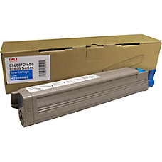 Oki TYPE C7 Cyan Toner Cartridge