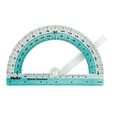 Helix Swing Arm 6 Protractor 180