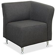 Lorell Fuze Lounger Chair Four legged