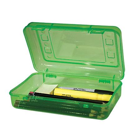 Innovative Storage Designs Pencil Box 8 12 x 5 12 Assorted ...