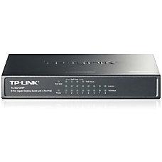 TP LINK TL SG1008P 8 Port