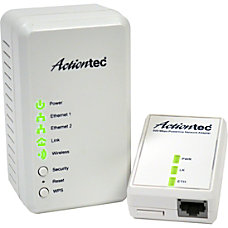 Actiontec Wireless Network Extender Powerline Network