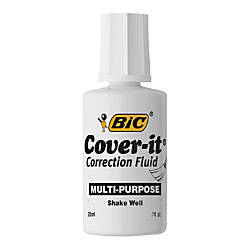 BIC Cover it Correction Fluid 068