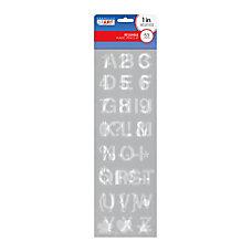 Cosco Plastic Stencil Kit LettersNumbersSymbols 1