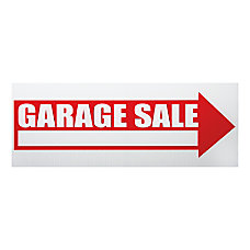 Cosco Garage Sale Sign Kit 6