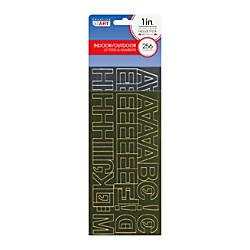Creative Start Metallic Peel Stick Letters