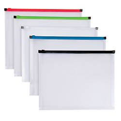 Office Depot Brand Poly Zip Envelope