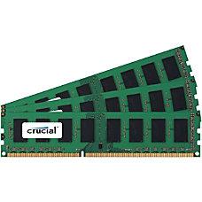 Crucial 6GB Kit 2GBx3 240 pin