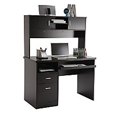 OfficeMax Illustra Transitional Engineered Wood Computer