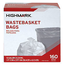 Highmark Trash Bags 10 Gallons Box