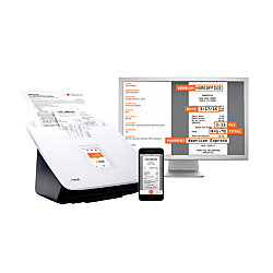 neatconnect wireless color document scanner premium bundle With office depot document scanning service