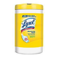 Lysol Disinfecting Wipes Citrus Scent 7