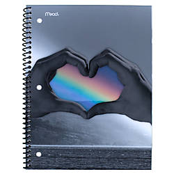 Mead ColorSplash Notebook 1 Subject College