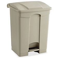 Safco Plastic 17 Gallon Step on