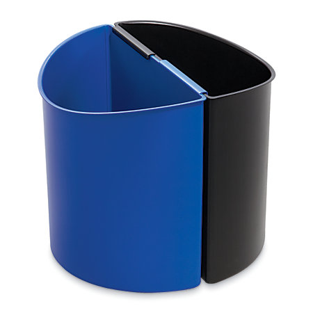 Safco desk side recycling bins pack of 2 by office depot officemax - Home depot recycling containers ...