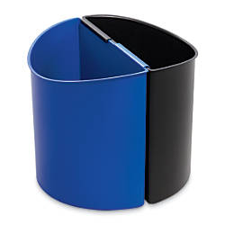 Safco Desk Side Recycling Bins Pack
