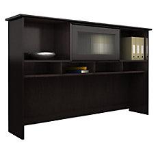 Bush Furniture Cabot 60W Hutch Espresso