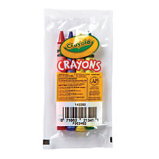Crayola Standard Crayons Assorted Classic Colors