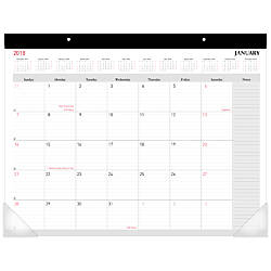 Office Depot Brand Monthly Desk Pad