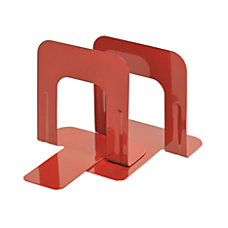 Steelmaster Soho 5 Economy Bookends Red