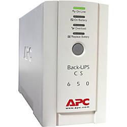 APC Back UPS CS 650VA 230V