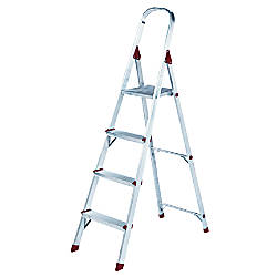 Louisville 4 Alum Platform Step Ladder