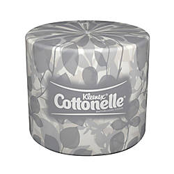 Kleenex® COTTONELLE® 2-Ply Bathroom Tissue, 506 Sheets Per Roll, Pack Of 10 Rolls