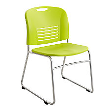 Safco Vy Stackable Chairs Sled Base