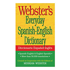 Federal Streets Press Websters Everyday Spanish