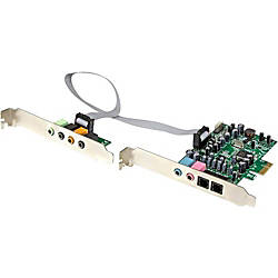 StarTechcom 71 Channel Sound Card PCI