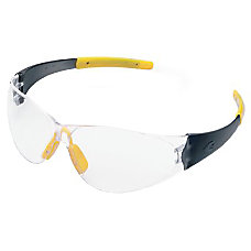 CHECKMATE SAFETY GLASSESSMOKE TEMPLE CLEAR LENS