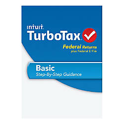 TurboTax Basic 2013 Traditional Disc By Office Depot