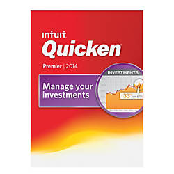 Quicken Premier 2014 Traditional Disc By Office Depot