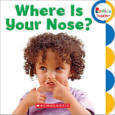 Scholastic Library Publishing Rookie Toddler Where