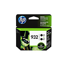 HP 932 Black Ink Cartridges L0S27AN140