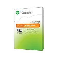 QuickBooks Online 2015 Simple Start Windows
