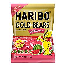 Haribo Watermelon Gold Bears 4 Oz