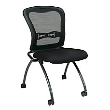 Office Star Folding Chair With Casters
