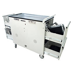 Noble Large Notebook Cart White
