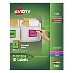 Avery Removable LaserInkjet Organization Labels 3