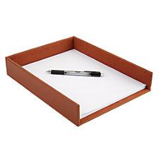 Realspace Leatherette Desktop Paper Tray 2