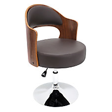 Lumisource Cello Chair BrownChrome